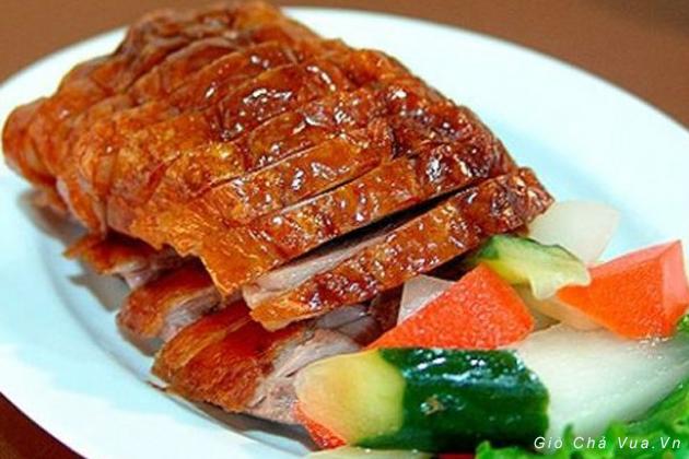 Đặc sản món ngon - vịt nướng Lạng Sơn