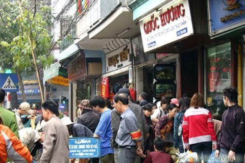 Cửa hàng Quốc Hương - chuyên bánh chưng, giò chả